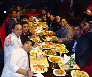 special dinner for employees
