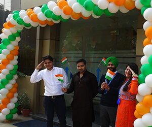 independence day celebration at hr-one office